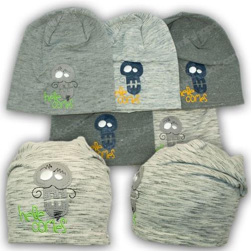Трикотажные шапки для детей, р. 46-48, 50-52