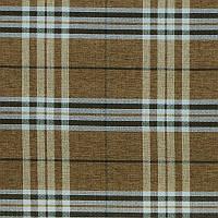 Рогожка Шотландия коричневый