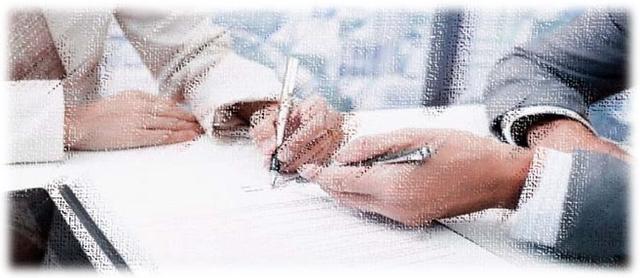 Подписание договора на изготовление мебели на заказ - фото 1