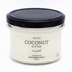 Нежная кокосовая манна, 190г, стекло, без добавок 100% кокос, кокосовая паста