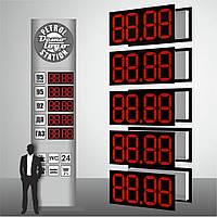 """Наружное электронное табло для заправок """"PS1-250"""" (высота символа 250 мм)"""