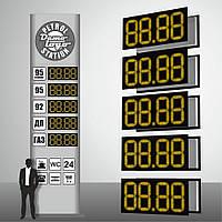 """Электронное табло для автозаправок """"PS1-320E"""" (высота символа 320 мм)"""
