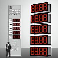 "Табло для АЗС ""PS1-320S"" (высота символа 320 мм)"