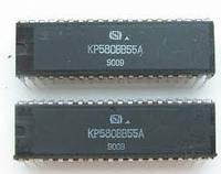 КР580ВВ55А (аналог intel 8255А) микропроцессор DIP40 (1989-1992г.в.)