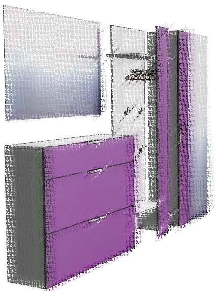 Дизайн мебели для прихожей - фото 1