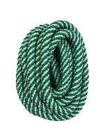 Скакалка для художественной гимнастики Deportivo 3м  бело-зеленая 22993020