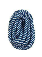 Скакалка для художественной гимнастики Deportivo 3м бело-голубая 22993030