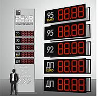 """Комплект электронных  информационных табло для автозаправок """"PS2-320S"""" (высота символа 320 мм)"""