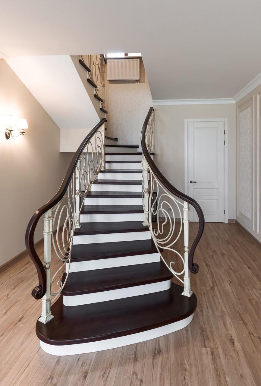 Покраска, морение, патинирование, лакировка - лестниц, ступенек, перил, балясин, фото 1