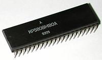 КР580ВМ80А (Intel i8080A) микропроцессор DIP40