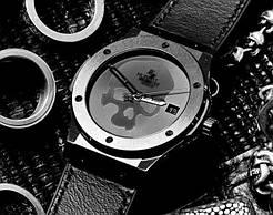 Наручные часы  Hublot  Classic Fusion Skull Bang  реплика