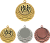 Медаль MMC3040 c жетоном и лентой (40mm)