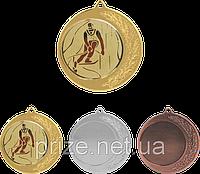 Медаль MD42 c жетоном и лентой (70mm), фото 1