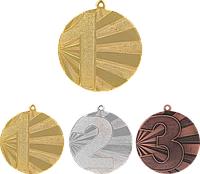 Медаль MMC7071 с лентой (70mm)