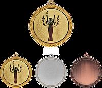 Медаль MMC6060 с жетоном и лентой (60mm)