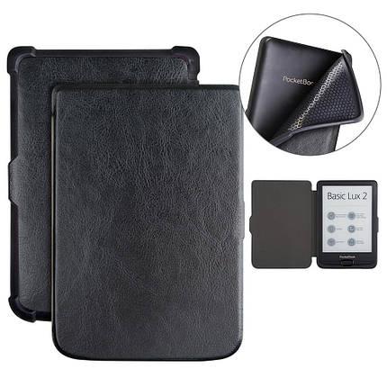 Чехол обложка PocketBook 616 627 632 Автовыключение, фото 2