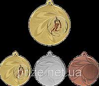 Медаль MMC9850 с жетоном и лентой (50mm)