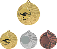 Медаль MMC5053 с жетоном и лентой (50mm)