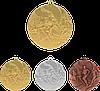 """Медаль MMC2350 """"Легкая атлетика"""" с лентой (50mm)"""