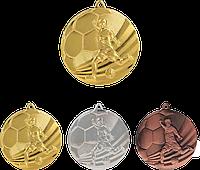 """Медаль MMC5055 """"Футбол"""" с лентой (50mm)"""