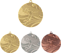 """Медаль MMC2250 """"Волейбол"""" с лентой (50mm)"""
