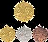 "Медаль MMC6850 ""Баскетбол"" с лентой (50mm)"