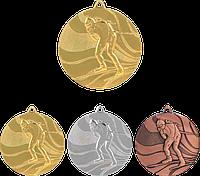 "Медаль MMC4750 ""Биатлон"" с лентой (50mm)"