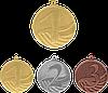 Медаль MD1291 с лентой (50mm)