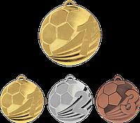 "Медаль MD2450 ""Футбол"" с лентой (50mm)"