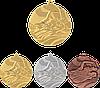 """Медаль MMC2750 """"Плавание"""" с лентой (50mm)"""