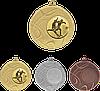 Медаль MMC4450 с жетоном и лентой (50mm)