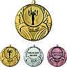 Медаль MMC5045 с жетоном и лентой (45mm)