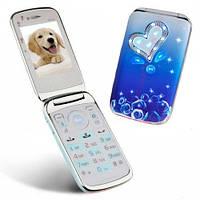 Детский мобильный телефон Nokia W666 (2 sim) голубой