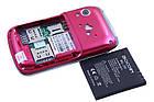 Детский мобильный телефон Nokia W666 (2 sim) красный, фото 6