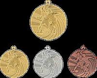 """Медаль MMC1340 """"Футбол"""" с лентой (40mm)"""