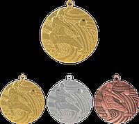 """Медаль MMC1540 """"Волейбол"""" с лентой (40mm)"""