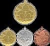 """Медаль MMC1640 """"Плавание"""" с лентой (40mm)"""