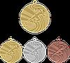 """Медаль MMC1740 """"Легкая атлетика"""" с лентой (40mm)"""