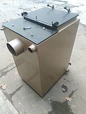 Твердотопливный котел длительного горения Energy Wood (Холмова) 25 квт, отапливаемая площадь до 250 м2 , фото 3