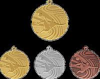 """Медаль MMC1240 """"Футбол"""" с лентой (40mm)"""