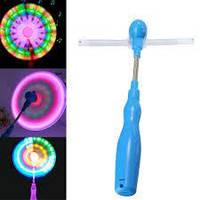 Вентилятор светящийся 3 цвета, 1шт в кульке, фото 1