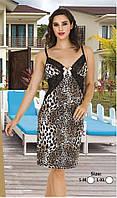 Туника , ночная сорочка леопард Lady  6303
