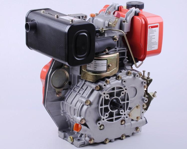 Дизельный двигатель 178F для мотоблока мотопомпы 6 лошадинных сил