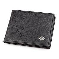 Мужской кошелек ST Leather 18319 (ST160) кожаный черный