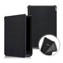 Чехол обложка PocketBook 616 черная  Автоматическое включение и выключение режима сна, фото 3