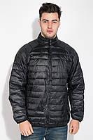 Куртка мужская на змейке 191V002 (Черный)