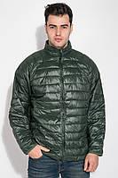 Куртка мужская на змейке 191V002 (Зеленый)