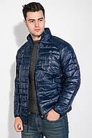 Куртка мужская на змейке 191V002 (Темно-синий)