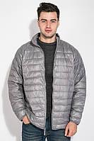 Куртка мужская на змейке 191V002 (Стальной)