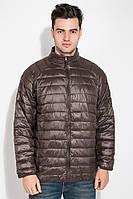 Куртка мужская на змейке 191V002 (Коричневый)